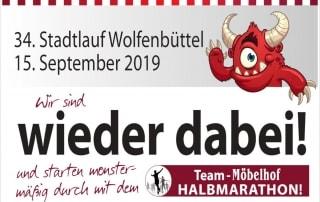 Stadgraben Lauf Wolfenbüttel 2019 Marathon Möbelhof-Adersheim
