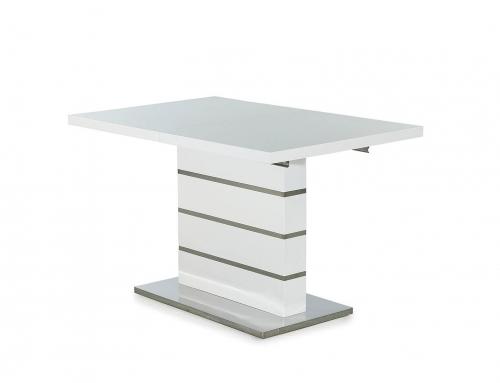 Tisch Hochglanz weiß