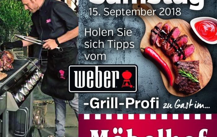 Grillvorführung_Weber_grill-Möbelhof_Adersheim